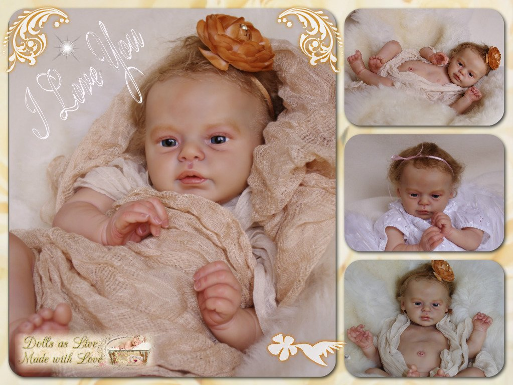 MIRACLE: Larry - Natali Blick -  Dolls as Live - Made with Love - Reborn dolls